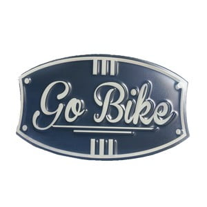 Cedule na stěnu Novita Go Bike