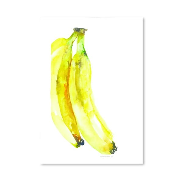 Plakát Banana, 30x42 cm