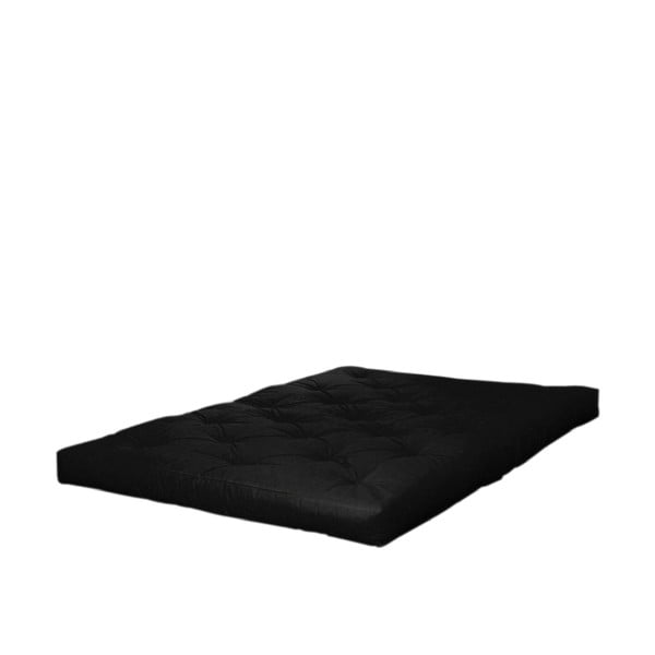 Double Latex Black fekete matrac, 180 x 200 cm - Karup Design