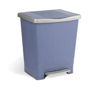 Modrý odpadkový koš spedálem Ta-Tay