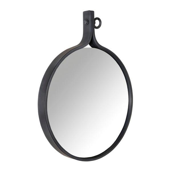 Oglindă cu ramă neagră Dutchbone Attractif, 60 cm