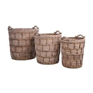 Set košíků Coar Reed, 3 ks