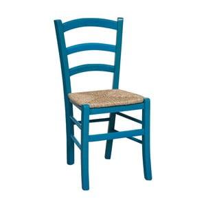 Modrá židle z bukového dřeva Crido Consulting Alis
