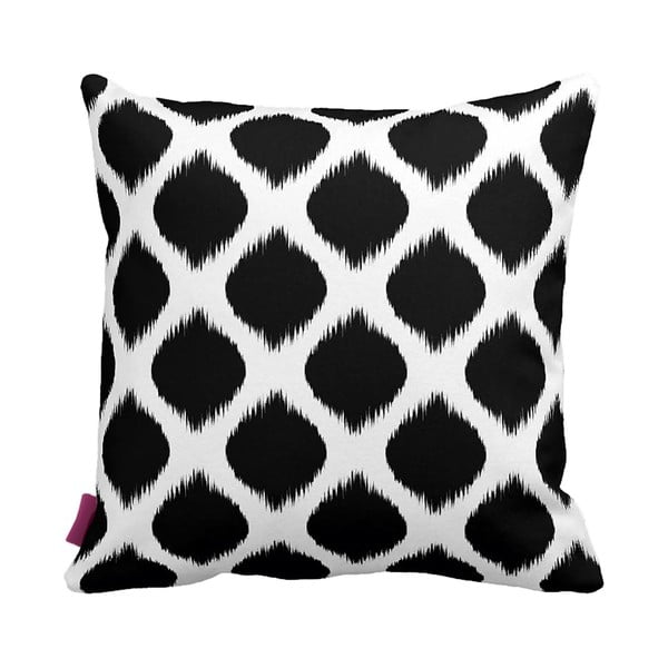 Černobílý polštář Homemania Black&White,43x43cm