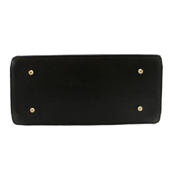 Černá kožená taška Blair