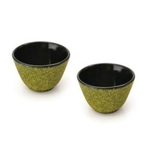 Set 2 kalíšků na čaj Green