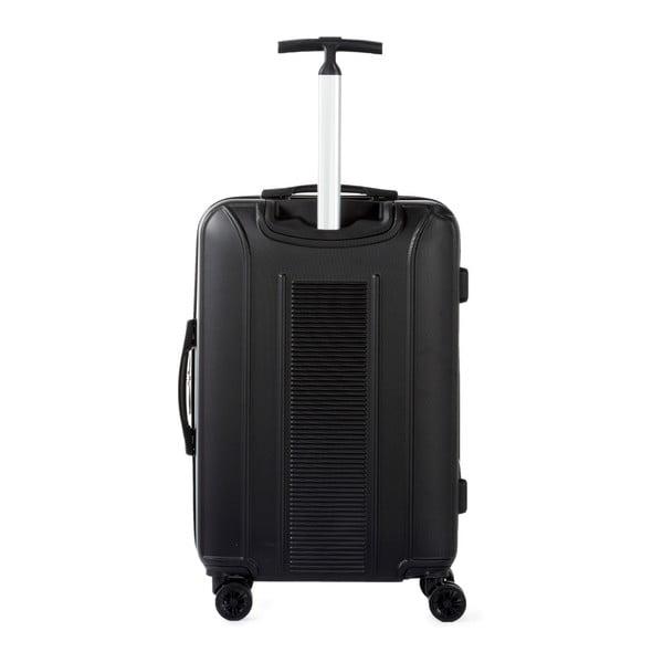 Sada 3 černých cestovních kufrů na kolečkách Murano Africa