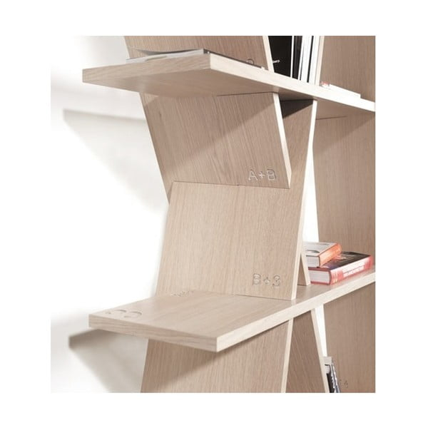 Knihovna z dubového dřeva Wewood - Portuguese Joinery XI