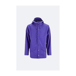 Fialová unisex bunda s vysokou voděodolností Rains Jacket, velikost L/XL