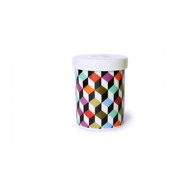 Univerzální porcelánová dóza Cubic
