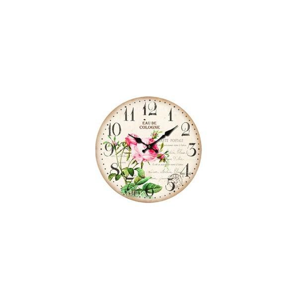 Nástěnné hodiny Eau de Cologne