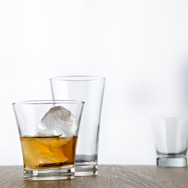 Sada 3 sklenic Iceland, 320 ml