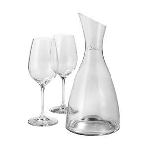 Set carafă cu 2 pahare pentru vin roșu Paul Bocuse