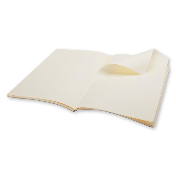 Sada 2 notesů Moleskine Volant 21x13 cm, růžová + linkované stránky