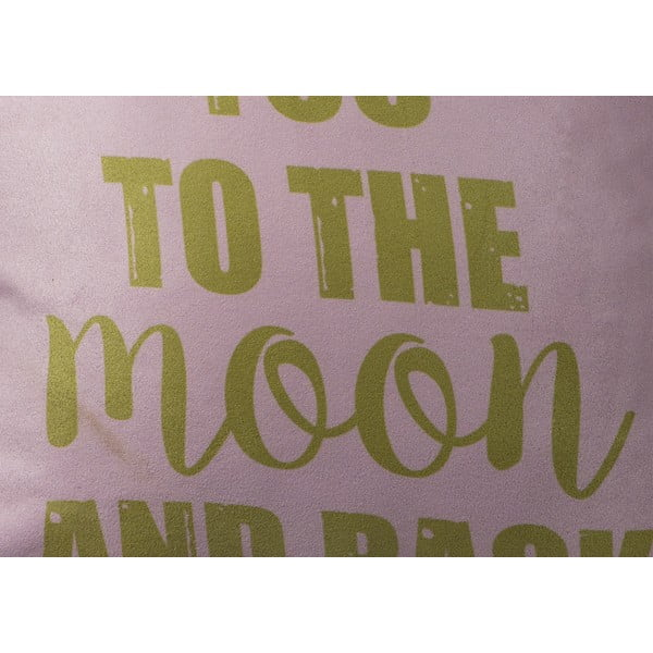 Polštář Fisura To The Moon, 40x40 cm