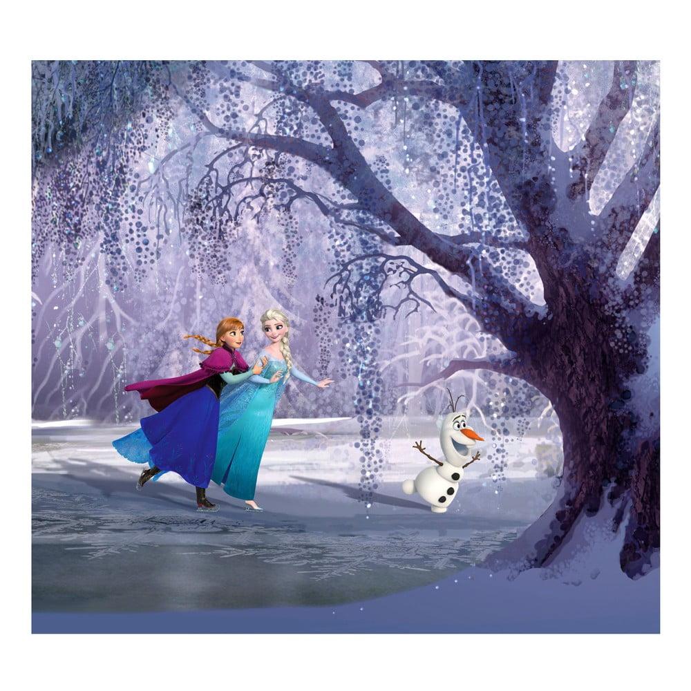 Foto závěs AG Design Frozen Ledové Království, 160 x 180 cm