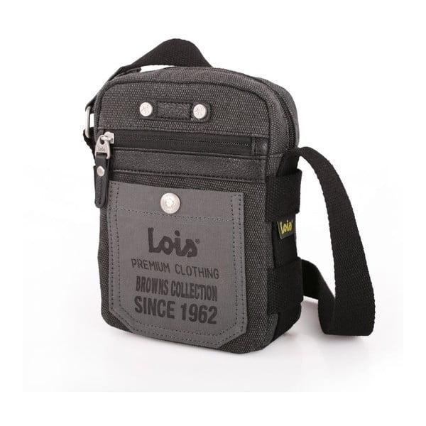 Taška přes rameno Lois Black, 14x19 cm