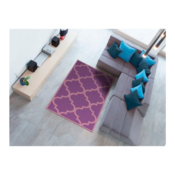 Fialový koberec Universal Nilo, 133 x 190 cm