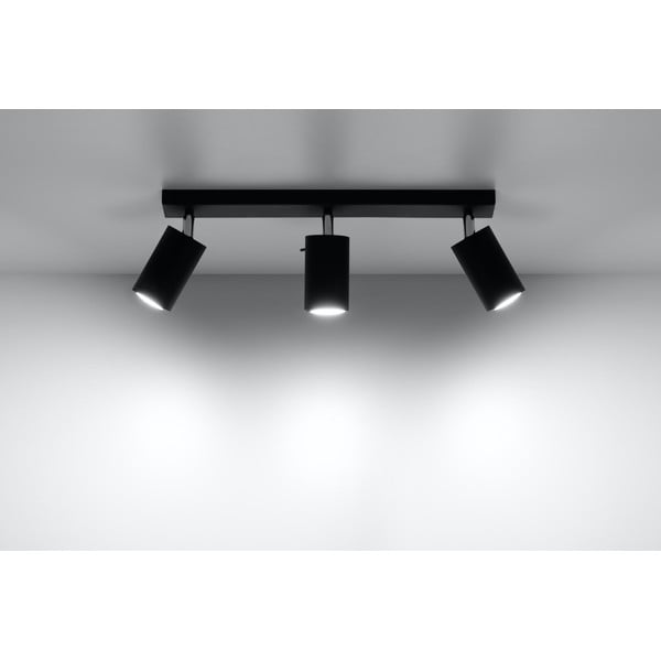 Plafonieră Nice Lamps Ethna 3 Black