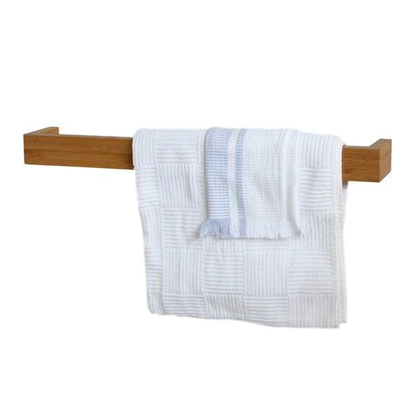 Držák na ručníky 60 cm, bambus