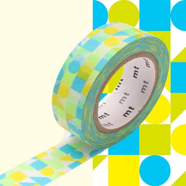 Bandă decorativă Washi MT Masking Tape Adelaide, rolă 10 m