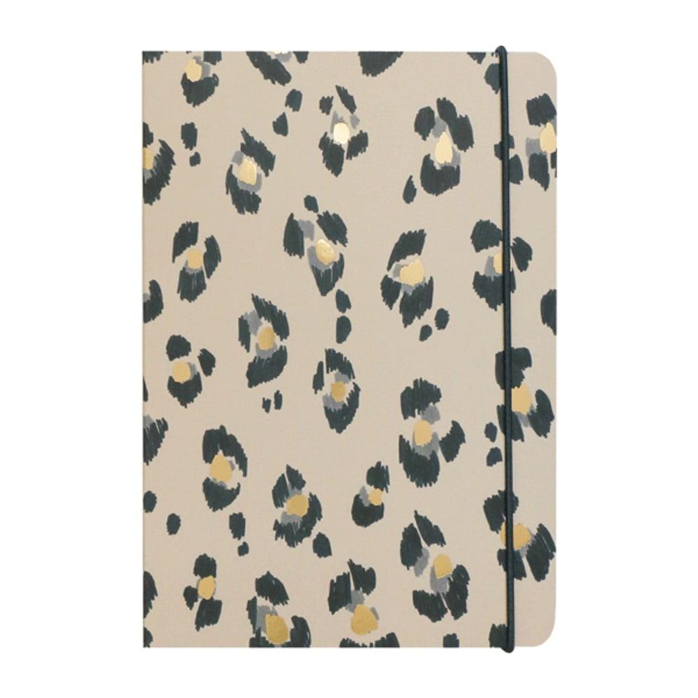 Zápisník A5 Portico Designs Leopard, 160stránek