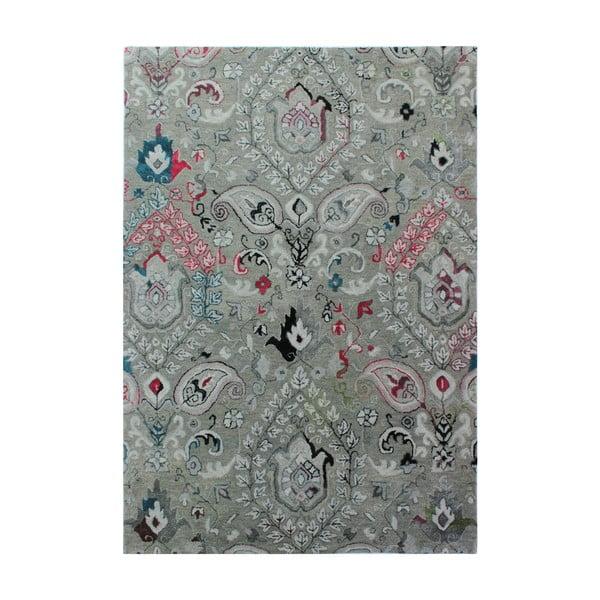 Covor țesut manual Flair Rugs Persian Fusion, 200 x 290 cm, gri