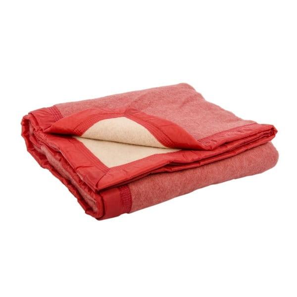 Vlněná deka Sarazzi  Rose, 180x220 cm