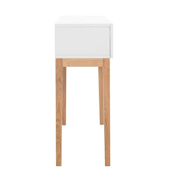 Odkládací konzolový stolek Tordis White