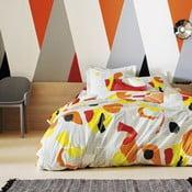 Bavlněné povlečení Flash Mandarine 140x200 cm