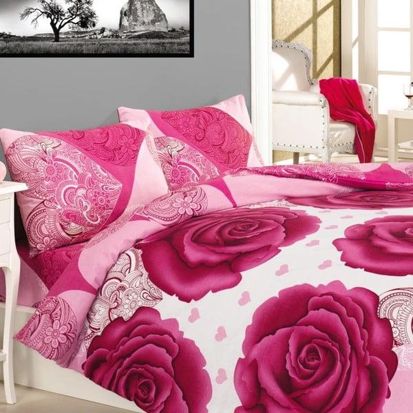 Povlečení Gun Pink Rose, 240x220 cm