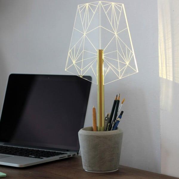 Náladové světlo s kalíškem na tužky Wired A