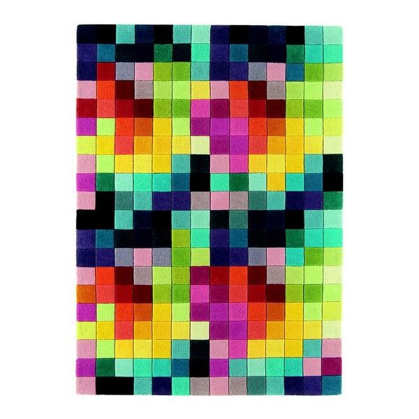 Vlněný koberec Funk Multi, 120x170 cm
