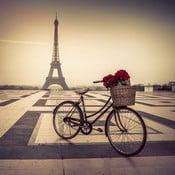 Obraz Paris Eiffel, 55x55 cm
