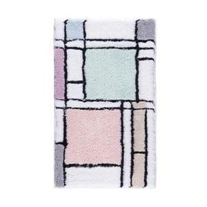 Pastelová předložka do koupelny Confetti Bathmats Haran, 50 x 60 cm