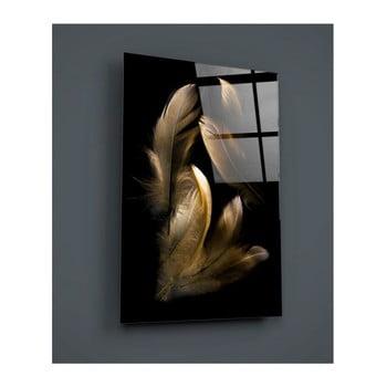 Tablou din sticlă Insigne Munskie, 72 x 46 cm