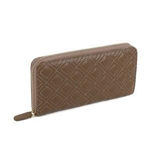 Tmavě béžová peněženka z koženky Laura Ashley Beagle