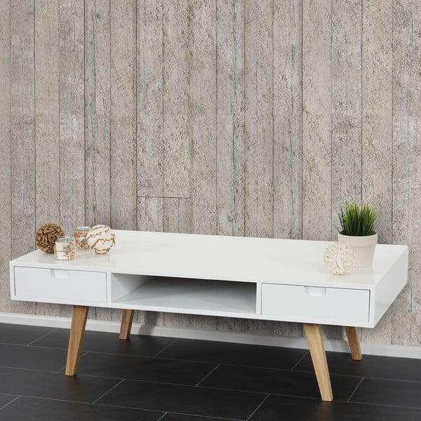 Konferenční/televizní stolek Vaasa White