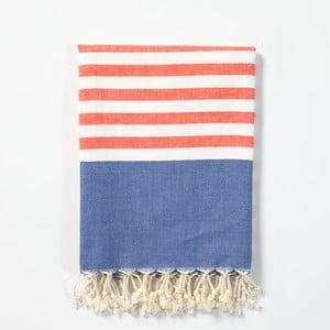 Hamam osuška z ručně tkané bavlny ZFK Aslaug, 170x100cm