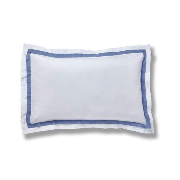 Modro-bílé povlečení Bianca Chambray, 260x230cm