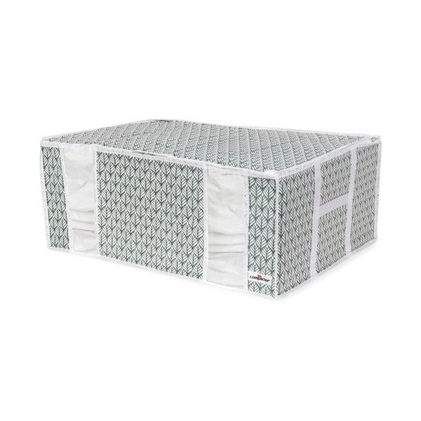 Modrý úložný box na oblečení Compactor Signature XXL Missy, 210 l