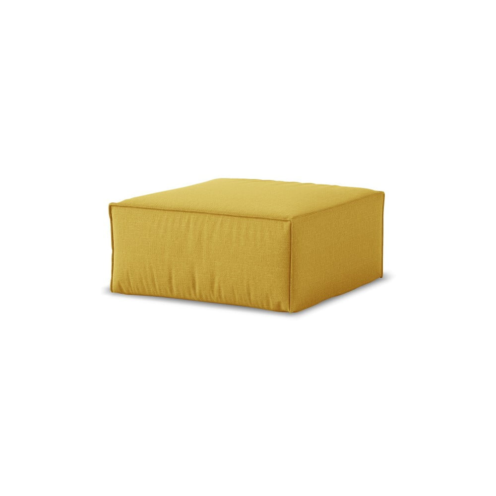 Produktové foto Žlutý puf Cosmopolitan Design Miami, 65 x 65 cm