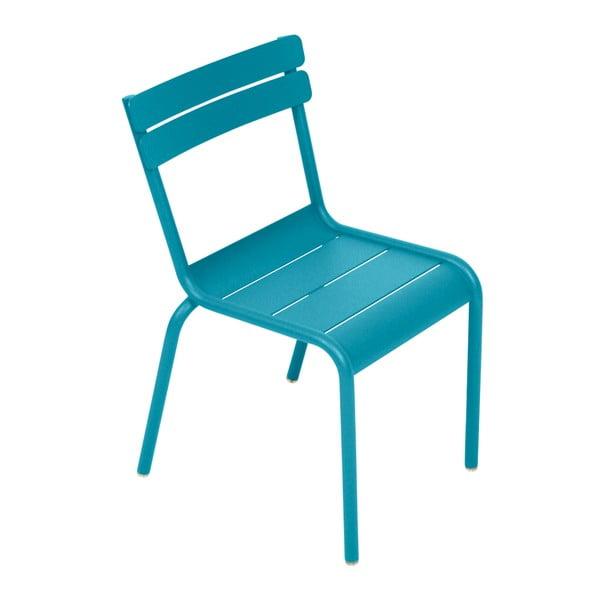 Tyrkysová dětská židle Fermob Luxembourg