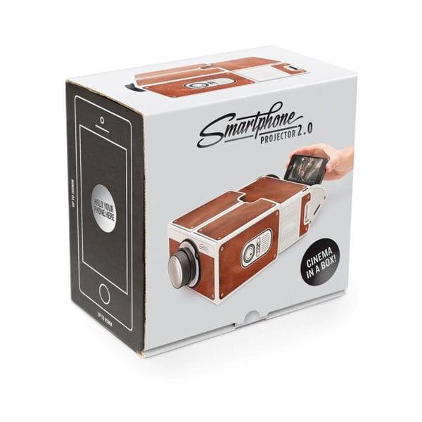 Smartphone projektor Luckies of London Brown
