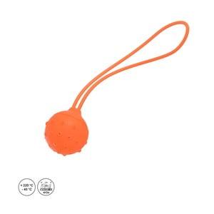 Oranžový silikonový sáček na sypaný čaj Orion Čajítko