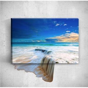 Nástěnný 3D obraz Mosticx Big Waterfalls, 40 x 60 cm