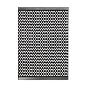 Černobílý koberec Hanse HomeSpot, 70x140cm