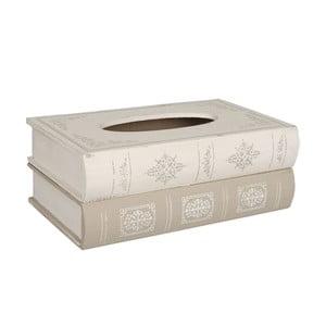 Box na kapesníky Wooden Books
