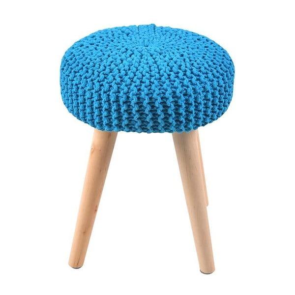 Taburetka Knitted Blue
