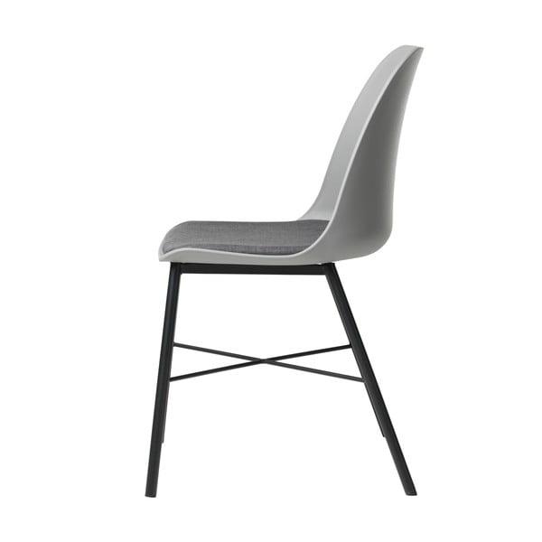 Šedá jídelní židle Unique Furniture Whistler